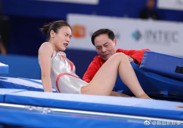 Khoảnh khắc chấn thương của nữ thần TDDC Trung Quốc bất ngờ gây sốt và kết cục đáng tự hào ở Olympic Tokyo 2020 - Ảnh 6.