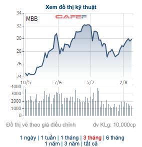 MB sẽ niêm yết bổ sung gần 980 triệu cổ phiếu vào ngày 12/8 - Ảnh 1.
