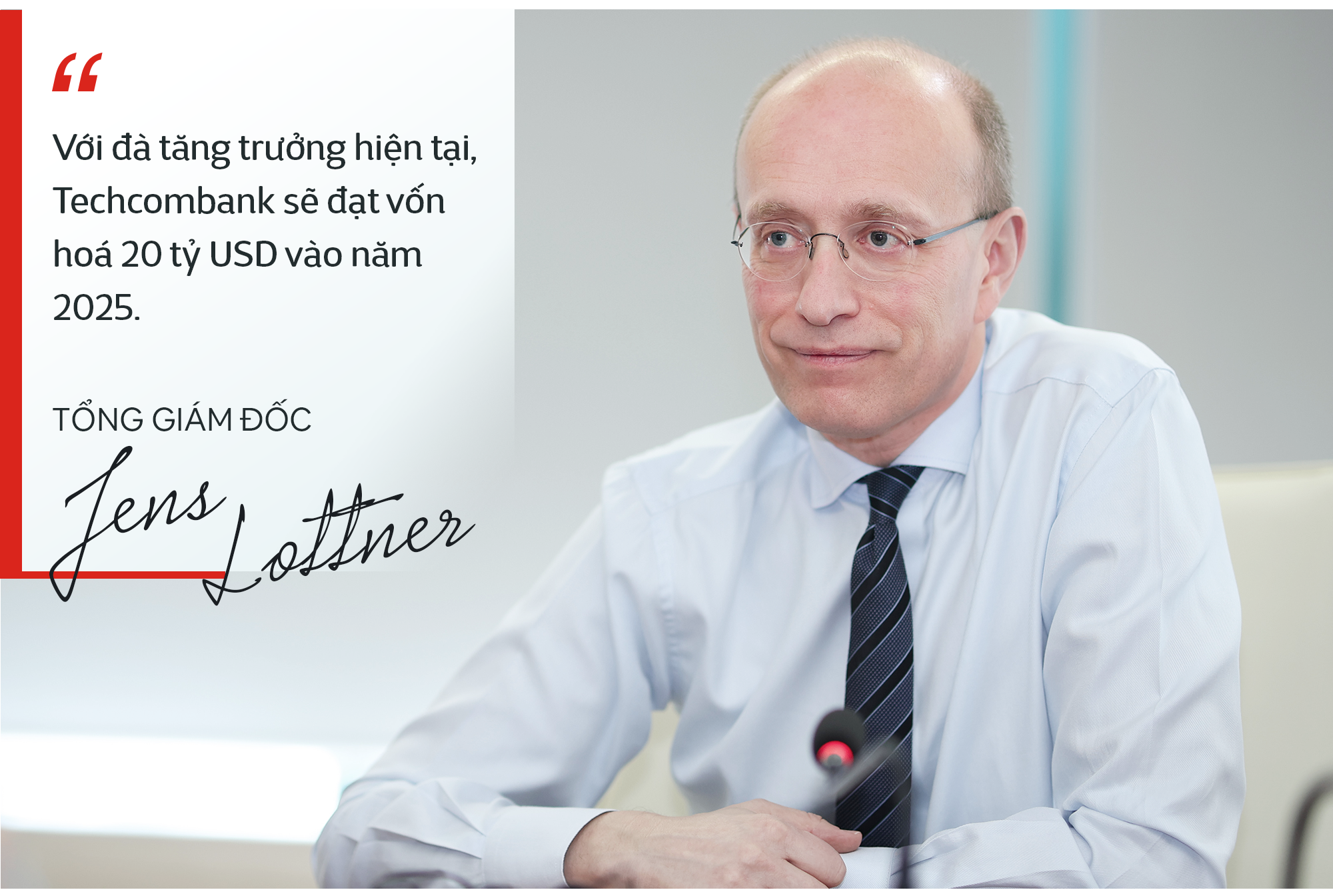 CEO Techcombank Jens Lottner: 'Tôi muốn hướng đến cung cấp trải nghiệm dịch vụ khách hàng lý thú và đơn giản như khi tải bài hát trên Spotify! - Ảnh 9.