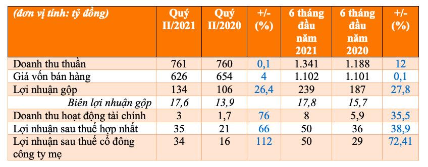 Fecon (FCN) báo lãi 6 tháng đầu năm 2021 tăng 39% nhờ các dự án điện gió - Ảnh 1.