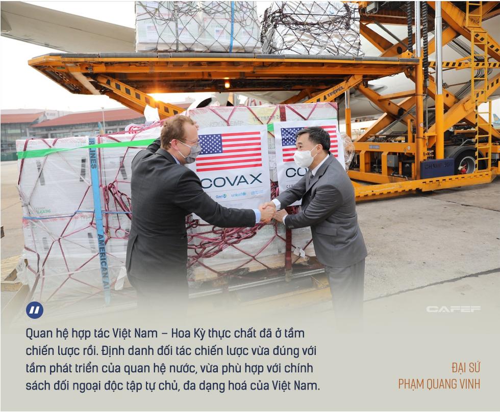 Đại sứ Phạm Quang Vinh: Đằng sau chuyến thăm lần đầu của một Phó Tổng thống Mỹ và kỳ vọng Việt Nam thành 'hub' sản xuất vaccine khu vực - Ảnh 18.