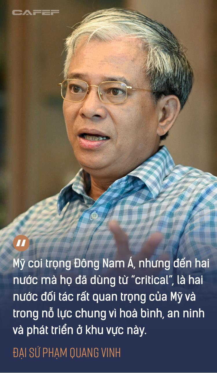 Đại sứ Phạm Quang Vinh: Đằng sau chuyến thăm lần đầu của một Phó Tổng thống Mỹ và kỳ vọng Việt Nam thành 'hub' sản xuất vaccine khu vực - Ảnh 3.
