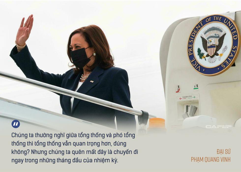 Đại sứ Phạm Quang Vinh: Đằng sau chuyến thăm lần đầu của một Phó Tổng thống Mỹ và kỳ vọng Việt Nam thành 'hub' sản xuất vaccine khu vực - Ảnh 5.