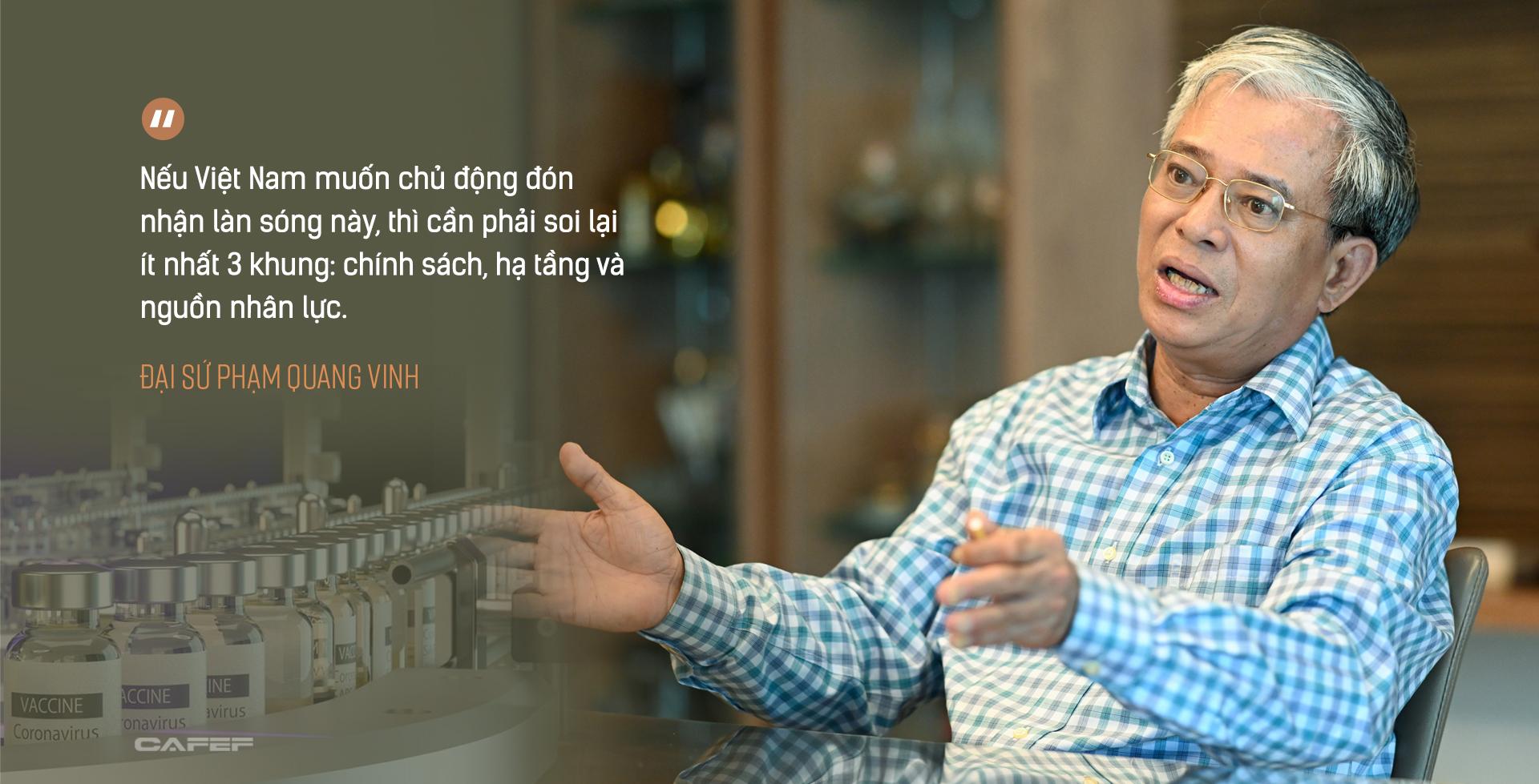 Đại sứ Phạm Quang Vinh: Đằng sau chuyến thăm lần đầu của một Phó Tổng thống Mỹ và kỳ vọng Việt Nam thành 'hub' sản xuất vaccine khu vực - Ảnh 8.