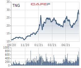TNG sắp phát hành gần 6,4 triệu cổ phiếu trả cổ tức năm 2021 với tỷ lệ 8% - Ảnh 1.