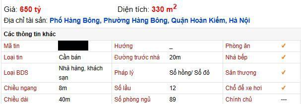 Giữa mùa dịch khách sạn phố cổ Hà Nội rao bán gần 2 tỷ đồng/m2 - Ảnh 3.