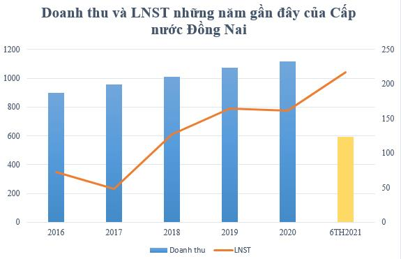 Cấp nước Đồng Nai (DNW) sắp chi 120 tỷ đồng trả cổ tức cho cổ đông - Ảnh 1.
