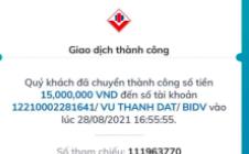 Lập tài khoản Zalo, đăng ký TK ngân hàng trùng tên người bị lợi dụng để lừa chuyển khoản với số tiền lớn