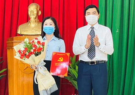 Bí thư huyện Hàm Thuận Nam làm Phó Chủ tịch tỉnh Bình Thuận  - Ảnh 1.