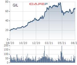 Lộ diện nhà đầu tư cá nhân nắm giữ lượng cổ phiếu HDG, GIL có giá trị gần 800 tỷ đồng - Ảnh 1.