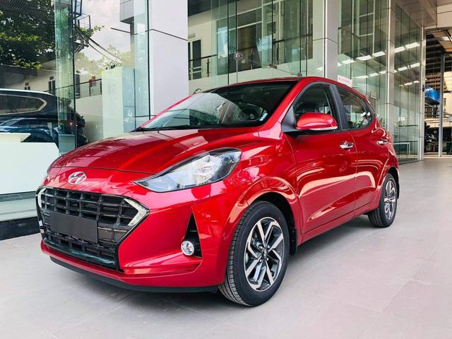 Hyundai Grand i10 2021 ồ ạt về đại lý với giá dự kiến tăng cao, mẫu cũ dọn kho giảm giá mạnh còn dưới 300 triệu đồng - Ảnh 3.