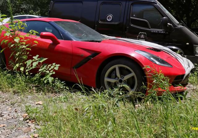 Xót xa toàn siêu xe, xe siêu sang tại nghĩa địa ô tô Trung Quốc: Rolls-Royce, Porsche, Corvette vứt cả đống, từ từ mục nát - Ảnh 5.