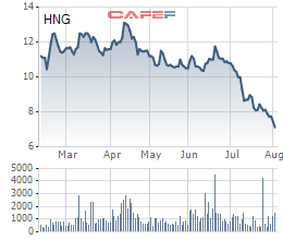HAG: Bán bất thành 51,5 triệu cổ phiếu HNG, vẫn giữ tỷ lệ sở hữu ở mức 16,07% vốn - Ảnh 1.