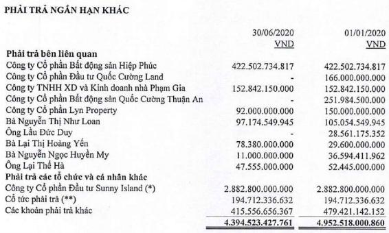 Quốc Cường Gia Lai (QCG): Kiểm toán nhấn mạnh về khoản nợ tiềm tàng 2.900 tỷ đồng với đối tác Sunny Island liên quan dự án Phước Kiển - Ảnh 1.