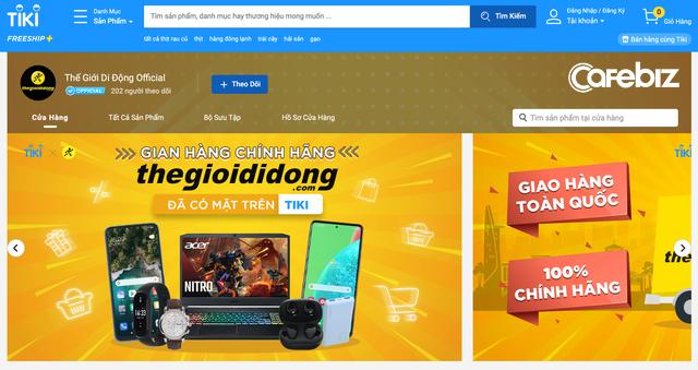 Nổi tiếng tự chủ với kênh TMĐT nhiều lượt truy cập bậc nhất Việt Nam nhưng Thế Giới Di Động vừa mở thêm cả gian hàng trên Shopee - Ảnh 3.