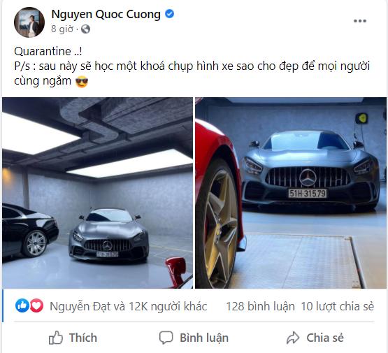 Minh Nhựa gạ đổi Aston Martin V8 Vantage lấy Mẹc GT R, Nguyễn Quốc Cường chốt đáp lời: Cậu muốn là được hết - Ảnh 1.