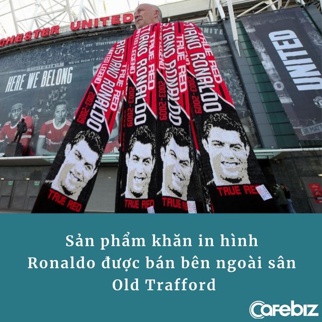 Ghi bàn là chuyện nhỏ, Cristiano Ronaldo còn trở thành cỗ máy in tiền cho Manchester United - Ảnh 2.
