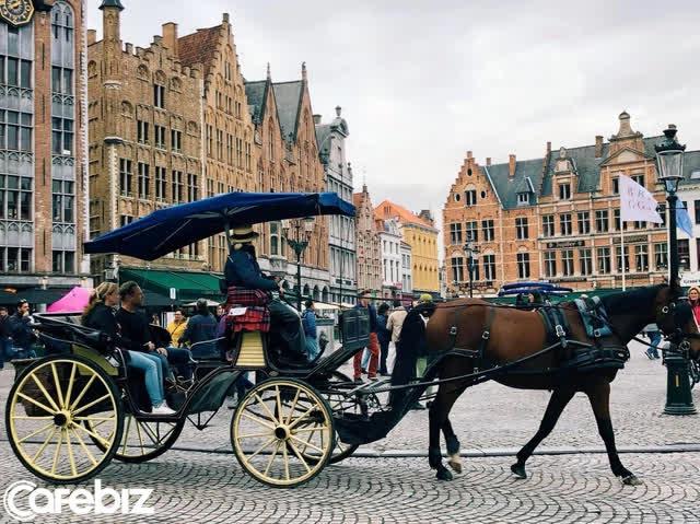 Một vòng khám phá Brugge, Bỉ trước Covid-19: Thành phố đẹp như tranh, những con kênh thơ mộng uốn quanh những toà nhà cổ kính - Ảnh 6.