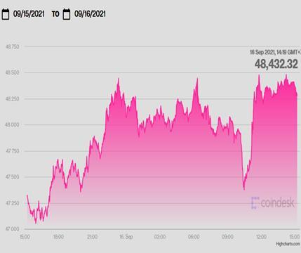 """USD hôm nay 16/9 """"đứng hình"""", vàng giảm, Bitcoin tăng tiếp - Ảnh 2."""
