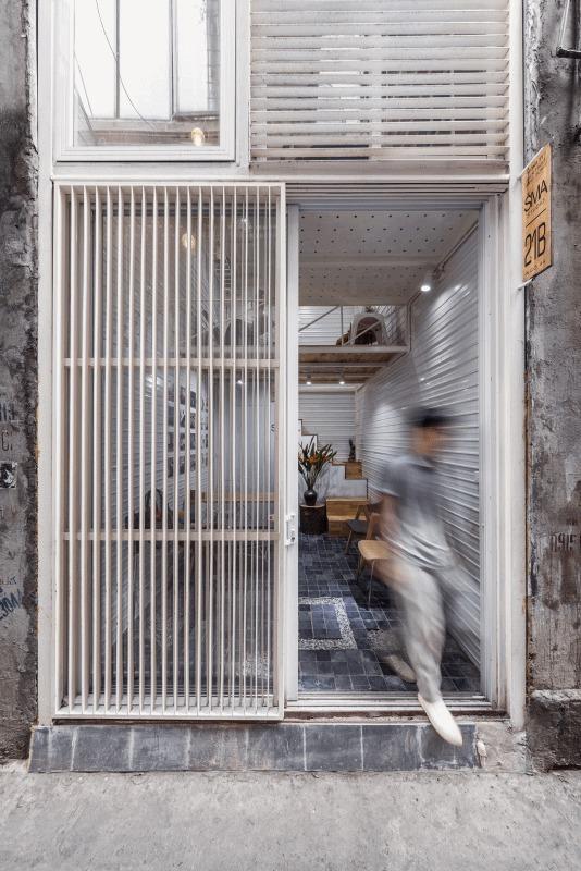 Nhà phố 10m2 ở Hà Nội không tốn một viên gạch để xây vẫn đẹp như mơ - Ảnh 3.