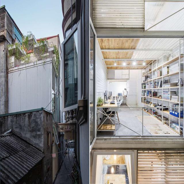 Nhà phố 10m2 ở Hà Nội không tốn một viên gạch để xây vẫn đẹp như mơ - Ảnh 4.