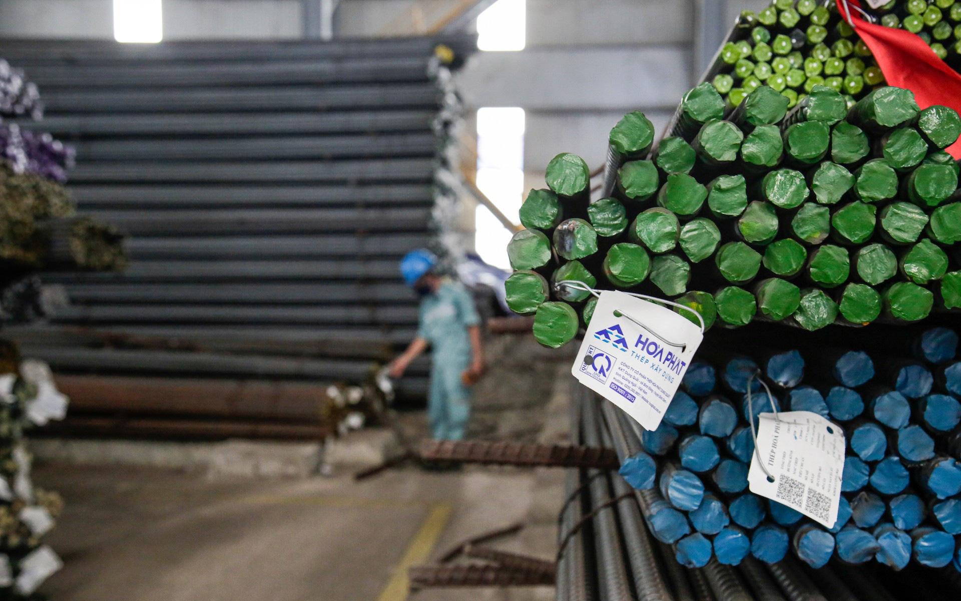 Thị phần thép xây dựng Hòa Phát tăng lên 37%