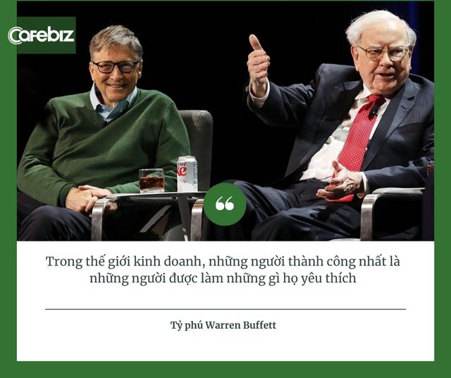 Điểm chung thú vị của người giàu, từ tỷ phú Việt Phạm Nhật Vượng, Trần Đình Long tới tỷ phú Mỹ Bill Gates, Warren Buffett: Họ không làm việc vì tiền! - Ảnh 1.