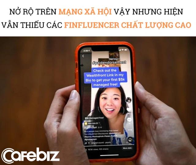 Đổi đời nhờ trở thành FINFLUENCER trên TikTok: Đăng video cách quản lý tiền, phím hàng chứng khoán kiếm 500.000 USD/năm, được các công ty khởi nghiệp, tài chính săn lùng như siêu sao - Ảnh 3.