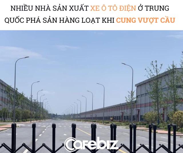 Kết đắng cho trào lưu người người, nhà nhà làm xe ô tô điện ở Trung Quốc: Phá sản trong chớp mắt, nhà máy tỷ USD hoang lạnh, rác chất đống sau vài năm - Ảnh 2.