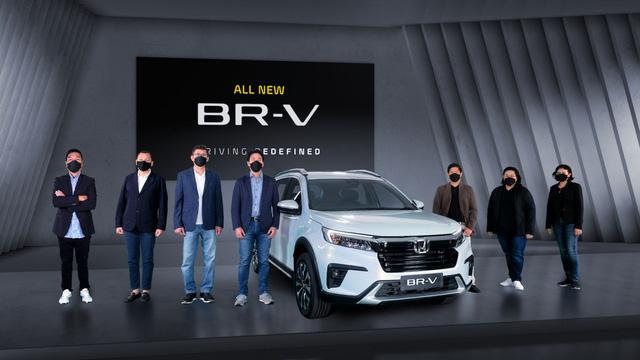 Ra mắt Honda BR-V 2022: Giá quy đổi hơn 415 triệu đồng, nhiều công nghệ như CR-V, sẽ làm khó Mitsubishi Xpander khi về Việt Nam  - Ảnh 1.