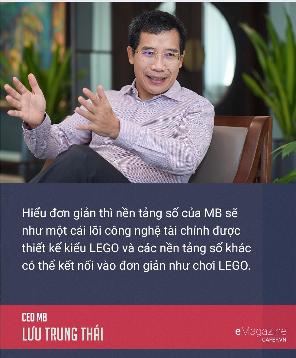 CEO Lưu Trung Thái giải mã hành trình 'lột xác' ngoạn mục của MB - Ảnh 25.