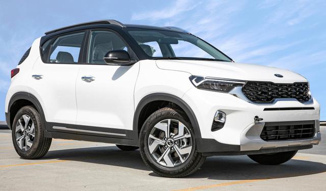 Đại lý thông báo Kia Sonet cận kề ngày ra mắt: Giá khoảng trên 500 triệu đồng, là SUV nhỏ nhất Việt Nam - Ảnh 4.