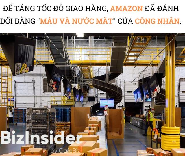 Hiện thực trần trụi bên trong những siêu nhà kho của Amazon: Dùng thuật toán áp KPI cho công nhân, hiệu suất tính chính xác tới từng giây, không tồn tại giờ giải lao - Ảnh 3.