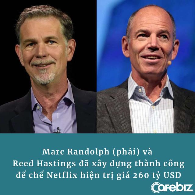 CEO đầu tiên của Netflix: Nhờ nhịn đói, ăn xin từ đồng 25 xu lẻ mà tìm ra cách làm nên đế chế 260 tỷ USD - Ảnh 2.