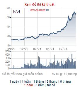 Cổ phiếu HAH tăng gần gấp 4 lần từ đầu năm, Vận tải Hải An đưa 1,4 triệu cổ phiếu quỹ ra bán - Ảnh 1.