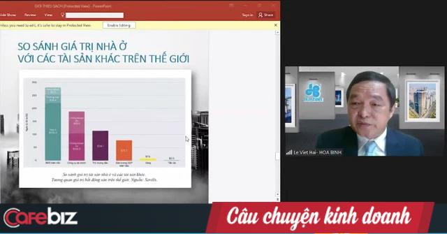 Chủ tịch HBC Lê Viết Hải nói về 'trang sử vàng' của VN: Cớ sao chúng ta không trở thành người xây nhà cho cả thế giới, chỉ 1% thị phần cũng đã có 120 tỷ USD? - Ảnh 4.