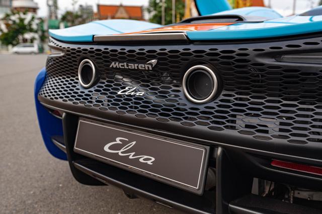 Khui công siêu phẩm trăm tỷ McLaren Elva tại Việt Nam: Xe được bảo vệ nghiêm ngặt, một chi tiết khó hiểu gây thắc mắc  - Ảnh 3.
