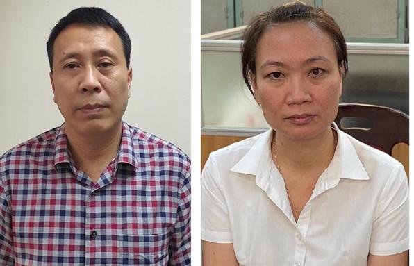 Nóng: Bắt tạm giam 3 giám đốc, phó giám đốc liên quan đến vụ nâng khống cây xanh ở TP Hà Nội gây thiệt hại hàng chục tỷ đồng - Ảnh 1.