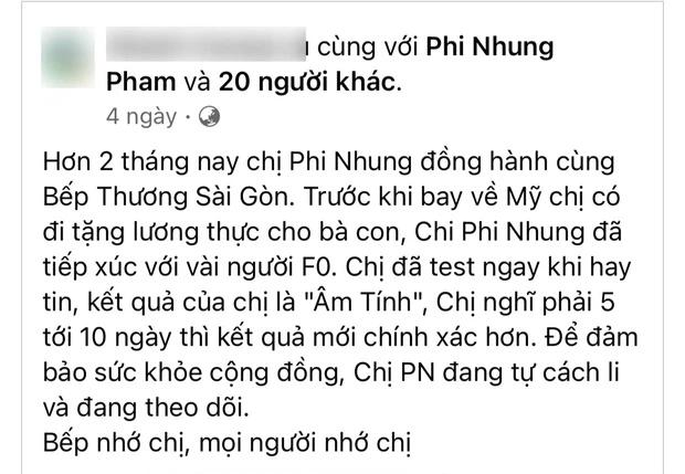 Chia sẻ cuối cùng của Phi Nhung trước khi qua đời: Xin lỗi khán giả, nói về lý do nhiễm Covid-19 - Ảnh 2.