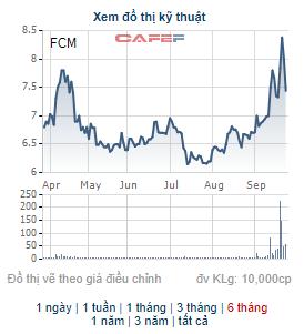 Một cổ đông lớn bán 1,2 triệu cổ phiếu của Khoáng sản Fecon trong phiên FCM tăng trần - Ảnh 1.