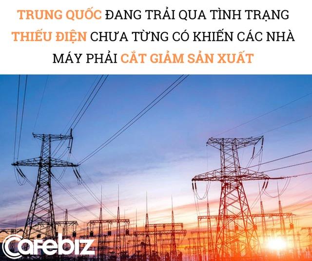 Trung Quốc 'thiếu điện', thế giới đón cú sốc 'thiếu đủ thứ': Các nhà máy chỉ hoạt động 3 ngày/tuần, có nơi tạm đóng cửa, chuỗi cung ứng toàn cầu trở thành mớ hỗn độn - Ảnh 1.