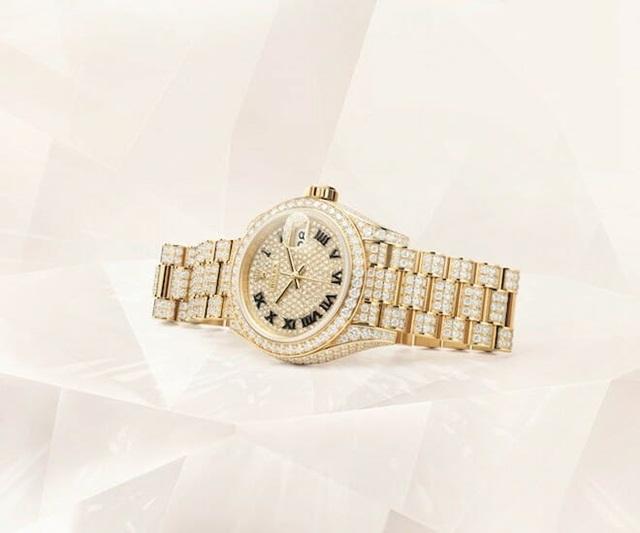 Tiêu chí chọn kim cương gắt khiến đồng hồ đá quý Rolex thành kiệt tác - Ảnh 1.