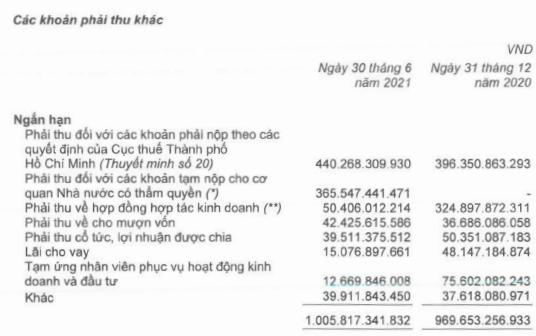 Thuduc House (TDH): Lãi ròng soát xét bán niên tăng 24% lên 174 tỷ đồng, kiểm toán kết luận ngoại trừ với khoản nợ thuế hơn 440 tỷ đồng - Ảnh 1.