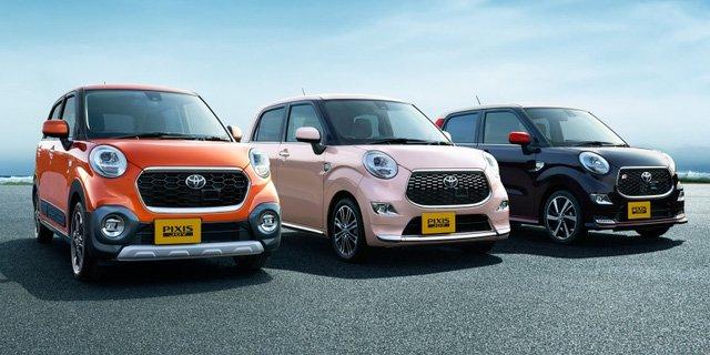 Toyota Pixis Joy bán ra tại Nhật với 3 phiên bản C, F và S
