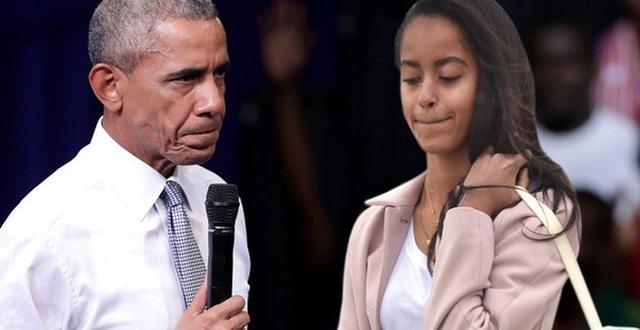Obama từng rất giận khi con gái lớn có hành động không đẹp nơi công cộng.