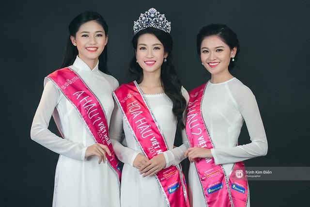 Hoa hậu Việt Nam 2016 - Đỗ Mỹ Linh - được cho là kém sắc hơn hai Á hậu.
