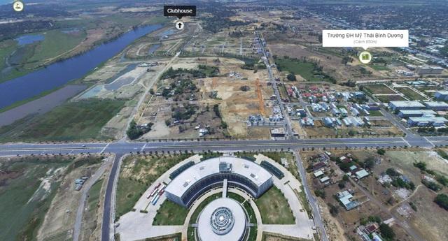 Tuyến đường Nam Kỳ Khởi Nghĩa chạy qua khu FPT Complex