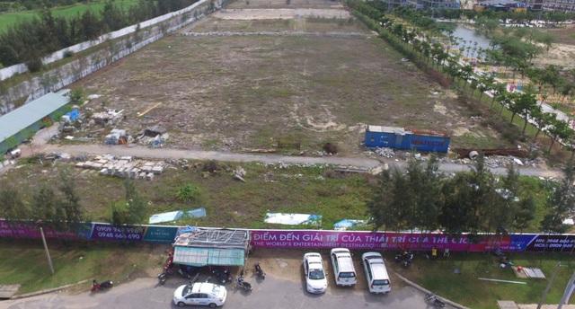 Khu đất xây dựng dự án Cocobay nhìn từ trên cao