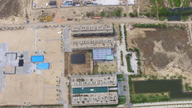 Công trường Cocobay Đà Nẵng đang xây dựng