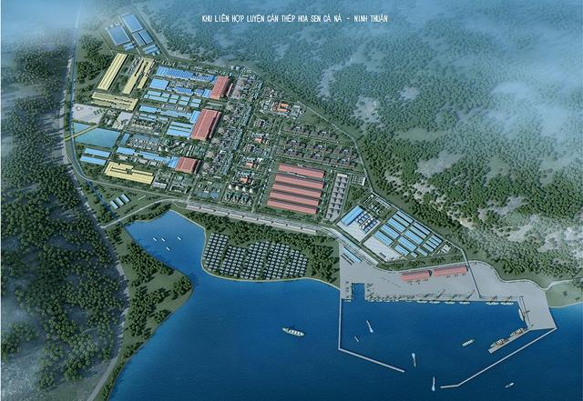 Phác hoạ dự án thép hơn 10 tỷ USD của Tôn Hoa Sen